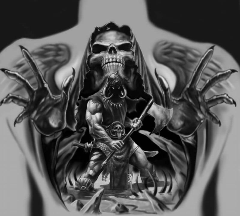 tatuajes de santa muerte-2
