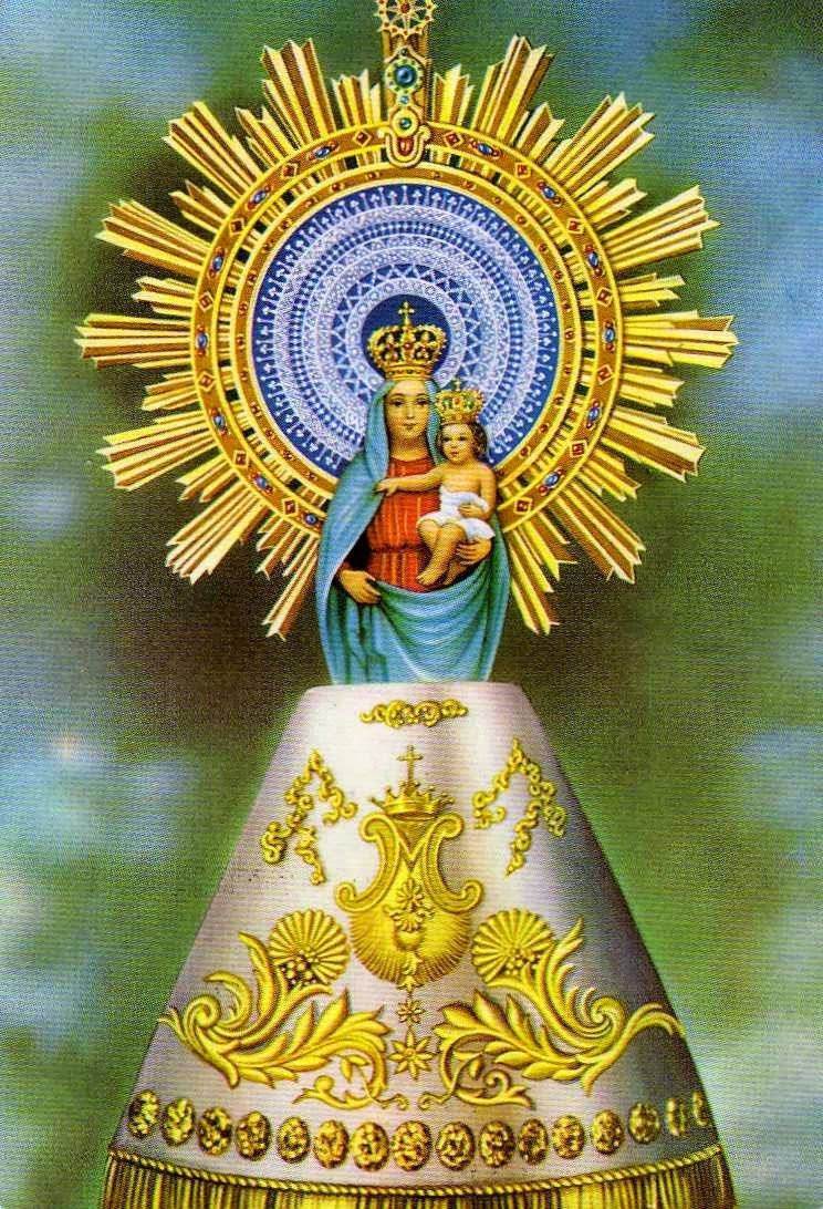 Virgen del Pilar y la guardia civil