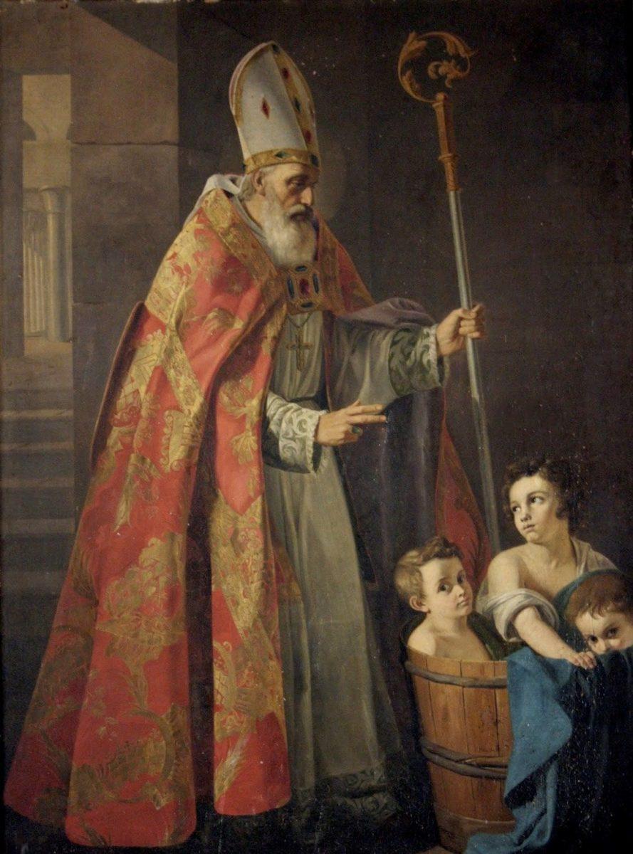 Oración para el trabajo de San Nicolas de Bari