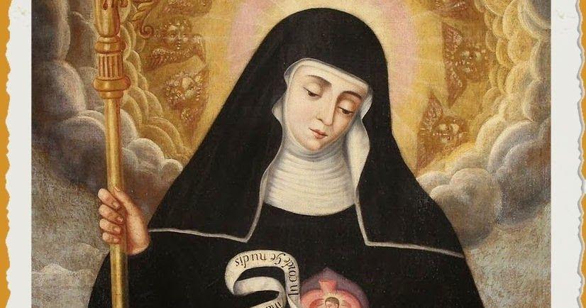 oración a santa gertrudis por las almas del purgatorio