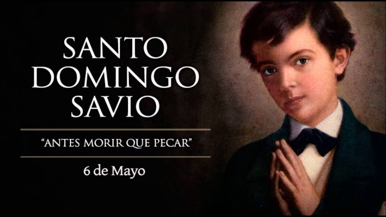 Oración a Santo Domingo Savio