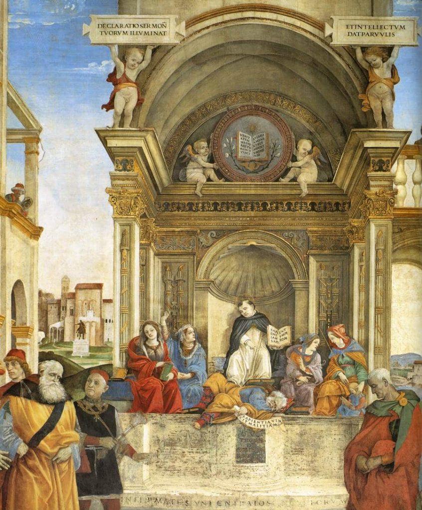Biografía de Santo Tomás de Aquino-tem