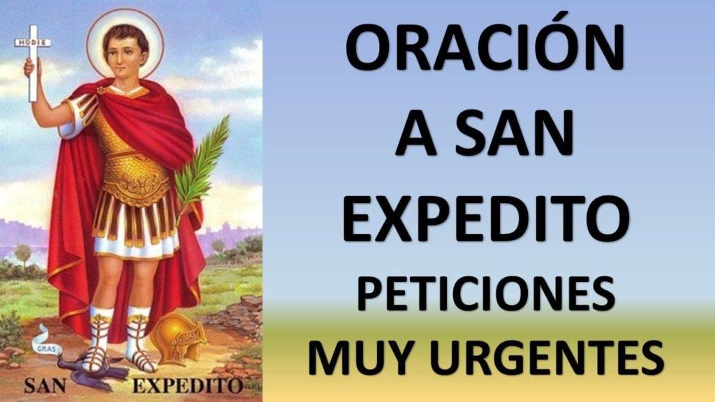 Oración a San Expedito para pedido especial